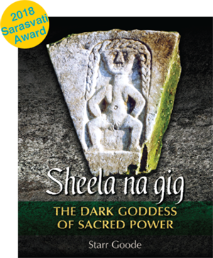Book cover for the Sheela Na Gig book, published by Inner Traditions